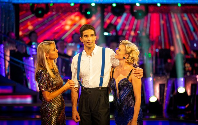 David James on Strictly Come Dancing