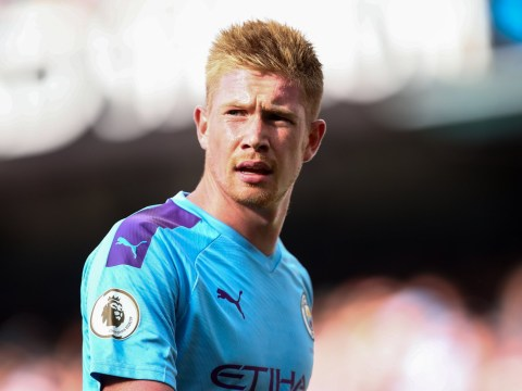 Kevin de Bruyne recovers from groin injury as he returns to Manchester City training