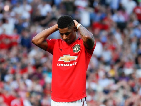 Marchus Rashford should not play as a central striker for Manchester United, says Jose Mourinho