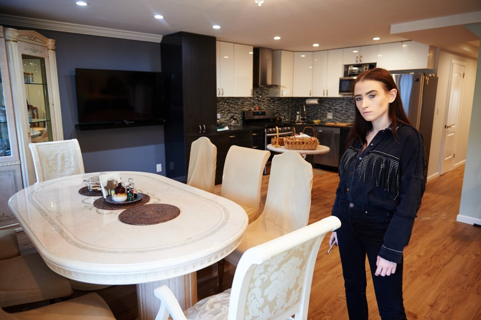 Dining room and kitchen in Urszula Makowska's Glendale neighborhood apartment on Saturday, September 7, 2019 in Queens, N.Y. (James Keivom/Metro.co.uk)