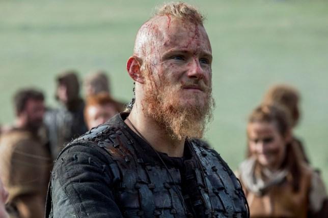 Alexander Ludwig as Bjorn in Vikings