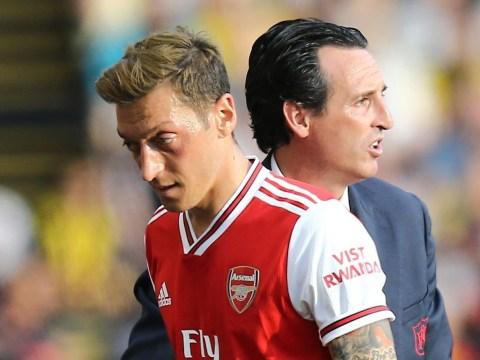 Arsenal manager Unai Emery reveals details of key talks with Mesut Ozil