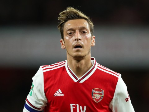 Unai Emery drops Mesut Ozil for Arsenal's Europa League clash with Standard Liege