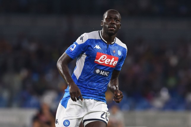 Kalidou Koulibaly has been linked with a move to Manchester United