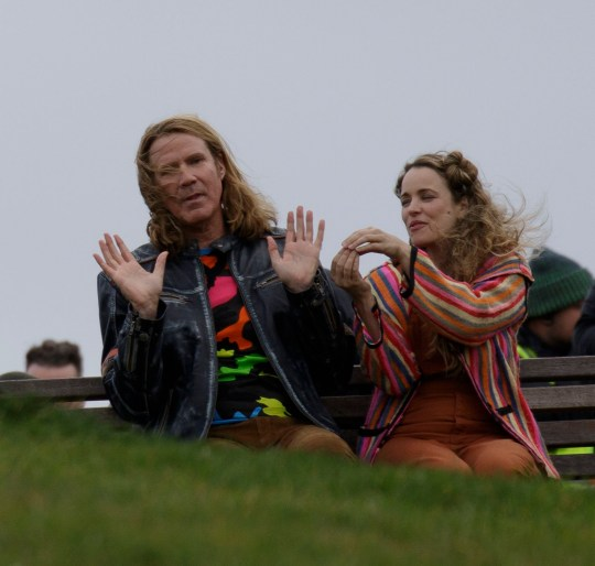 Eurovision Films In Edinburgh With Will Ferrell And Rachel