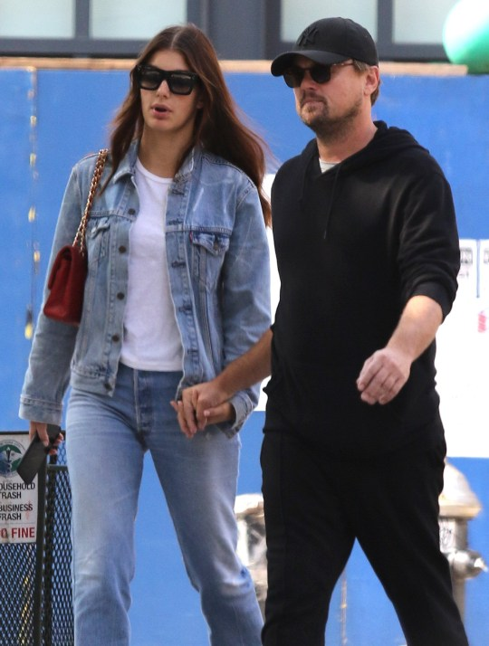 Leonardo Dicaprio and girlfriend Camila Morrone