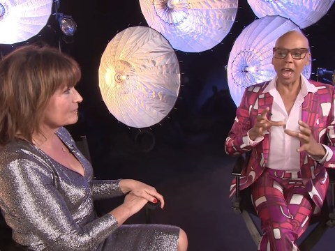 RuPaul taught Scottish slang by Lorraine Kelly and honestly she could teach us a thing or two too