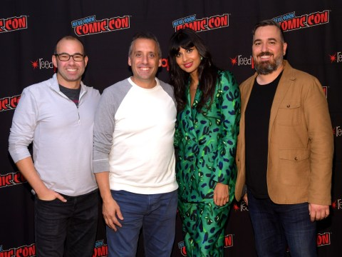 Jameela Jamil teams up with Impractical Jokers for new comedy panel show The Misery Index