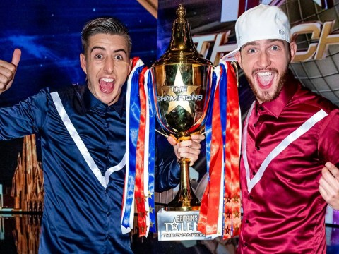 Who beat Twist and Pulse in 2010 as they win BGT The Champions?