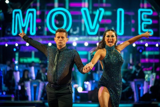 For use in UK, Ireland or Benelux countries only BBC handout photo of Mike Bushell and Katya Jones during the BBC1 dance contest, Strictly Come Dancing. PA Photo. Picture date: Saturday October 5, 2019. See PA story SHOWBIZ Strictly. Photo credit should read: Guy Levy/BBC/PA Wire NOTE TO EDITORS: Not for use more than 21 days after issue. You may use this picture without charge only for the purpose of publicising or reporting on current BBC programming, personnel or other BBC output or activity within 21 days of issue. Any use after that time MUST be cleared through BBC Picture Publicity. Please credit the image to the BBC and any named photographer or independent programme maker, as described in the caption.