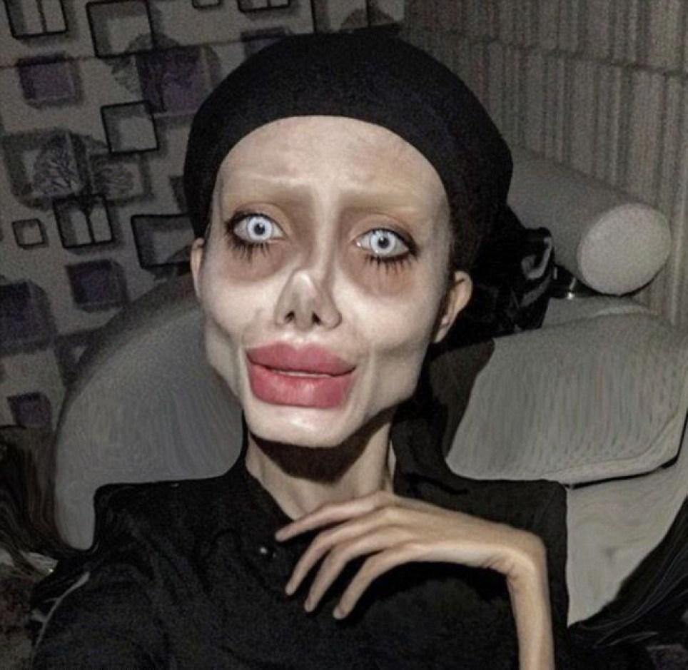Iranian Angelina Jolie corpse lookalike