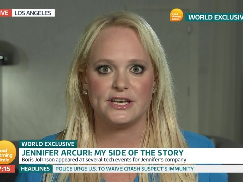 Jennifer Arcuri refuses to say if she had an affair with Boris Johnson