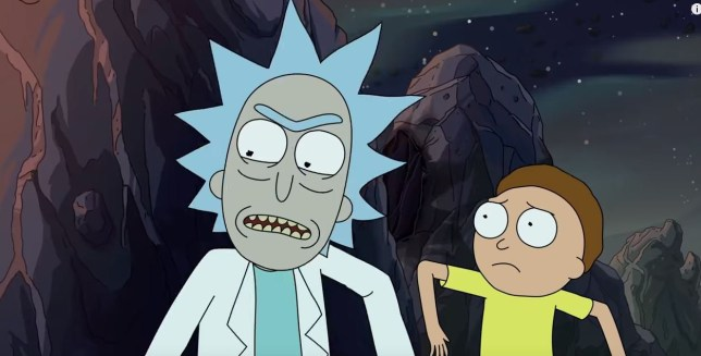 Rick and Morty in the new season trailer
