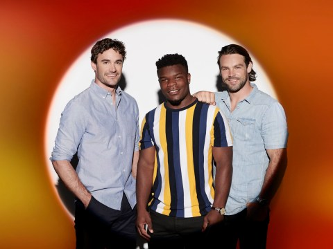 X Factor Celebrity's Ben Foden, Thom Evans and Levi Davis stripping off for first live show as Try Star