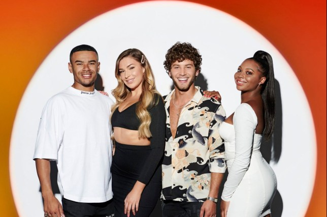 Love Island supergroup with Wes Nelson, Zara McDermott, Eyal Booker and Samira Mighty on The X Factor: Celebrity