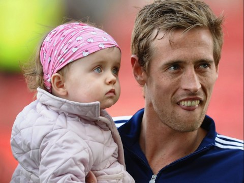 Peter Crouch confirms him and Abbey Clancey are finished with having children