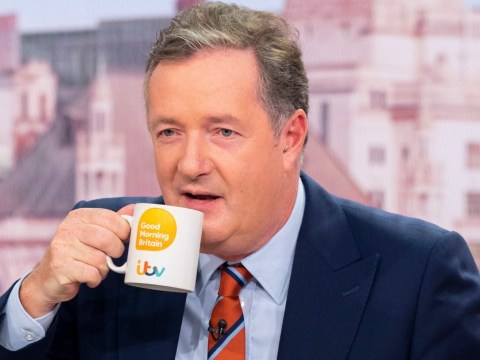 Where is Piers Morgan on Good Morning Britain today?