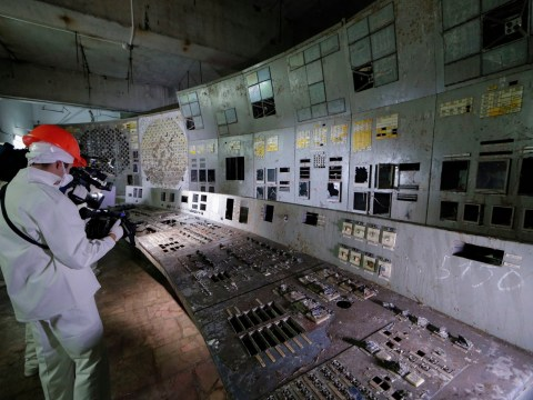 Chernobyl's highly-contaminated Reactor 4 control room is open to the public
