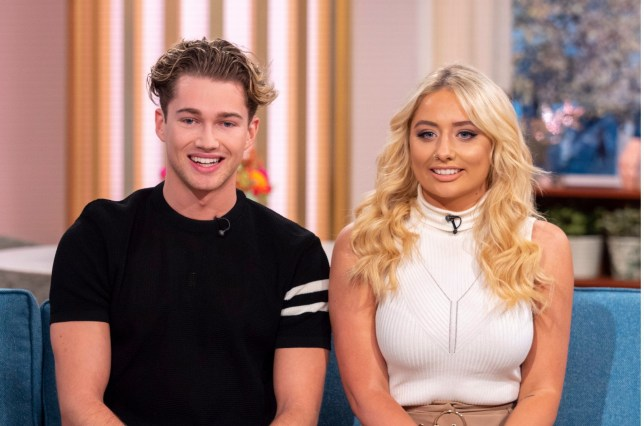 AJ Pritchard and Saffron Barker on 'This Morning'