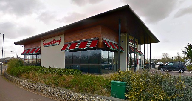 Frankie and benny's allergy Great Yarmouth branch Picture: google maps METROGRAB