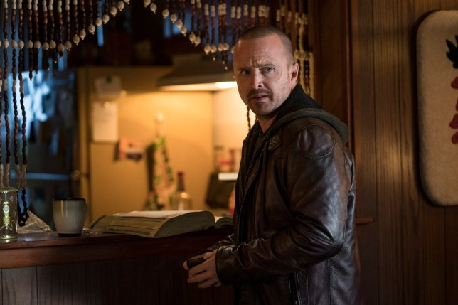 Aaron Paul breaks down how the Breaking Bad team pulled off that surprise diner scene in El Camino