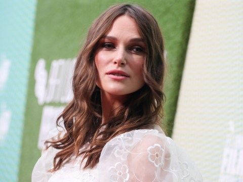 How old is Keira Knightley and who is she married to as star promotes new movie one month after giving birth?