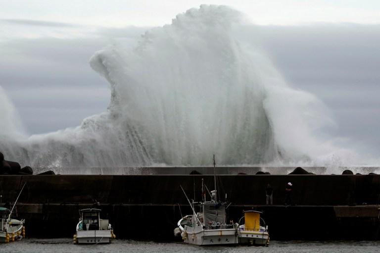 4 Orang Tewas Akibat Topan Hagibis di Jepang