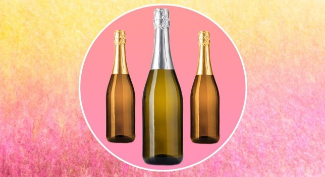 Bottles of prosecco