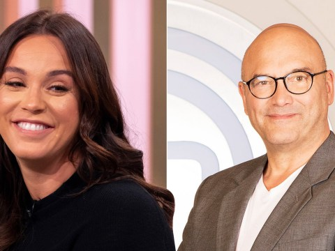 Vicky Pattison's secret crush on Gregg Wallace convinced her to go on Celebrity: MasterChef