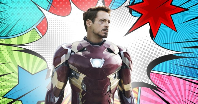 Avengers' Tony Stark (Robert Downey Jr)