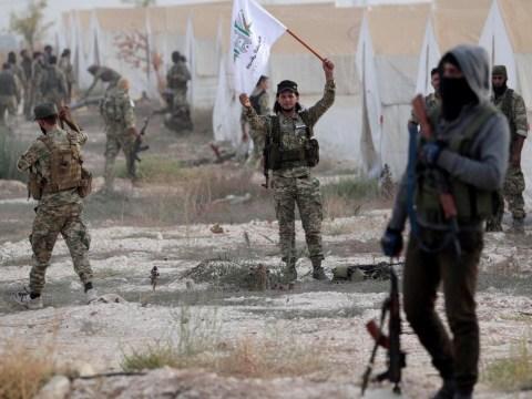 Isis prisoners break out of Syrian jail following Turkish bombing raid