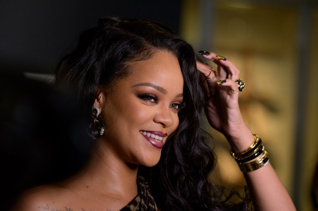 """Singer Rihanna attends the launch of her first visual autobiography, """"Rihanna"""""""