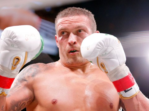 Oleksandr Usyk sends message to Anthony Joshua after beating Chazz Witherspoon in heavyweight debut