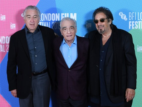 Robert De Niro, Al Pacino and Martin Scorsese are the best of friends at The Irishman photocall in London