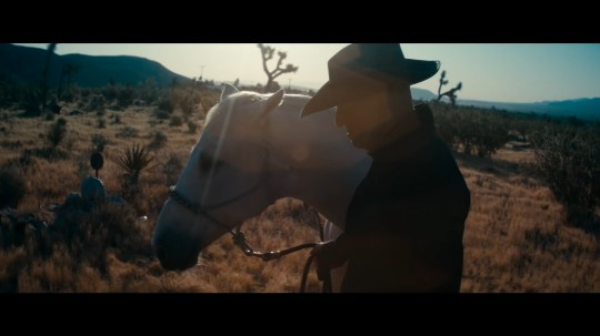 Bruce Springsteen in his cinematic album, Western Stars