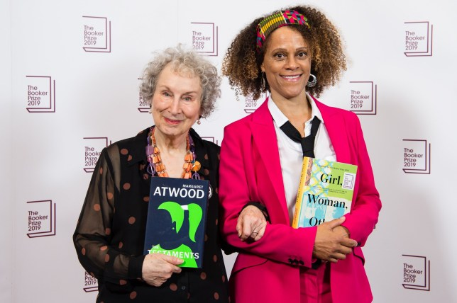booker prize winners margaret atwood and bernadine evaristo