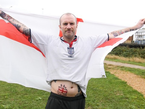 Brexit fan gets October 31 exit date tattooed on his stomach