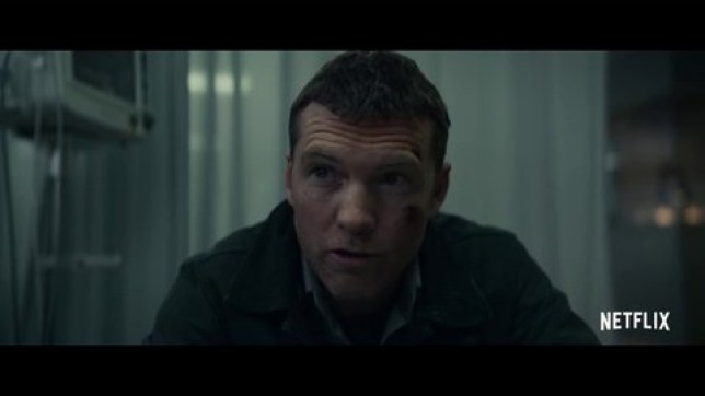 Sam Worthington in Netflix movie Fractured