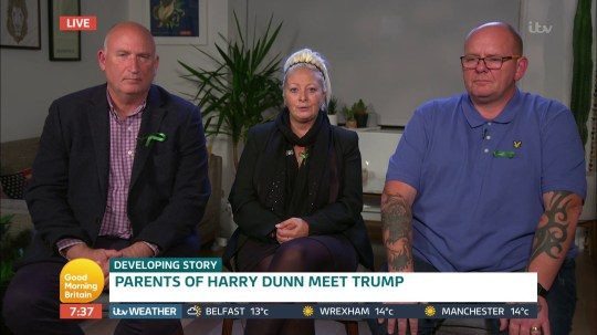Charlotte Charles and Tim Dunn appearing on Good Morning Britain. 16.10.19 (Picture: ITV)