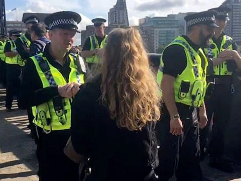 Police 'ask people for ID to cross London bridge', but you don't have to show them