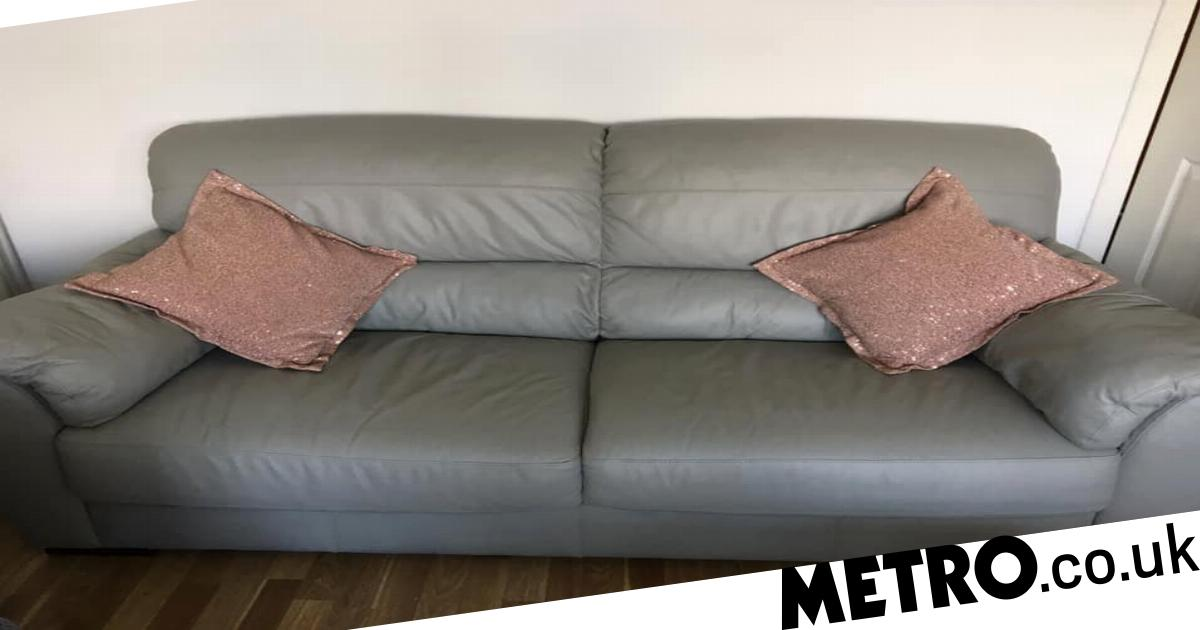 Tremendous Mums Share Genius Hack To Restore Cracked Leather Sofa For Pabps2019 Chair Design Images Pabps2019Com