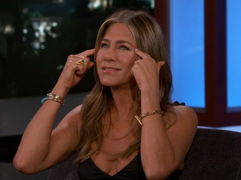 Jennifer Aniston remembers first time she saw herself on a billboard, couldn't post it to Instagram