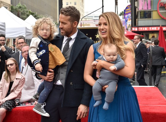 How many children do Ryan Reynolds and Blake Lively have ...