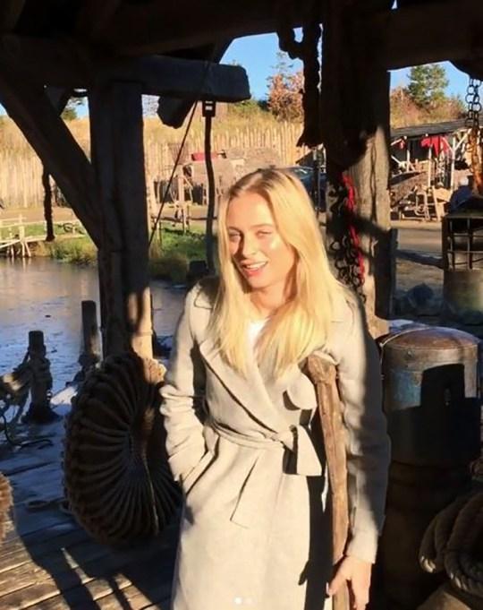 Vikings star Ida Marie Nielsen