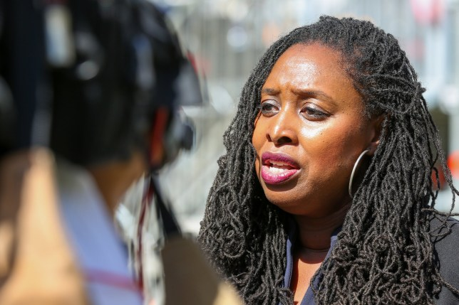 Shadow Women & Equalities Secretary Dawn Butler is seen at College Green in Westminster, London. (Photo by Steve Taylor / SOPA Images/Sipa USA)