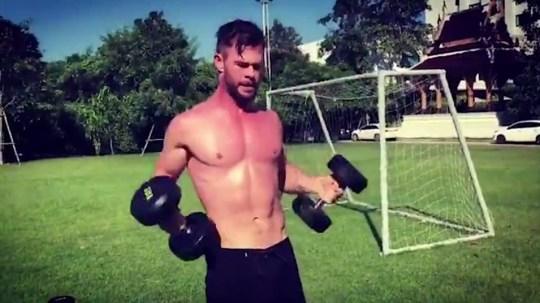 Avengers star Chris Hemsworth