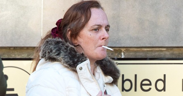Woman shoved cigarette papers up man's nose then set them on fire