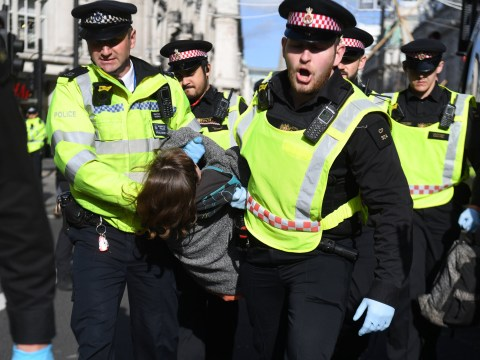 Extinction Rebellion protests cost the same as 1,000 new police recruits
