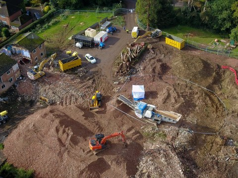 Human remains found at former care home during building work