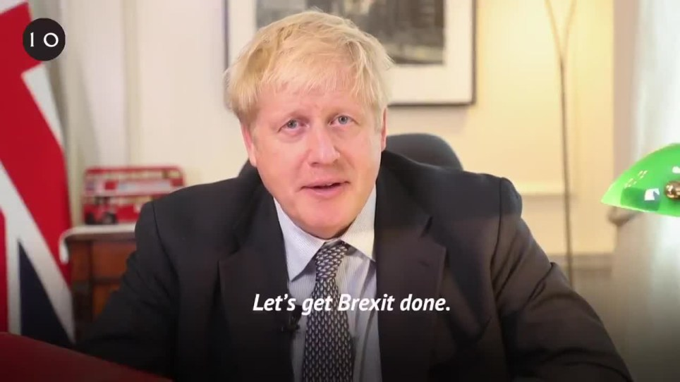 Boris Johnson 'explains' his brexit deal in Downing Street video